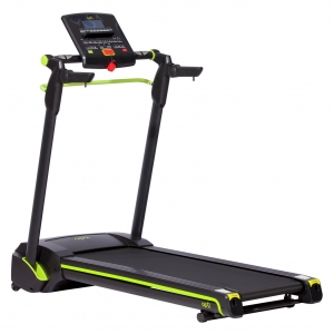 Opti Easy Fold Treadmill With Incline and Bluetooth
