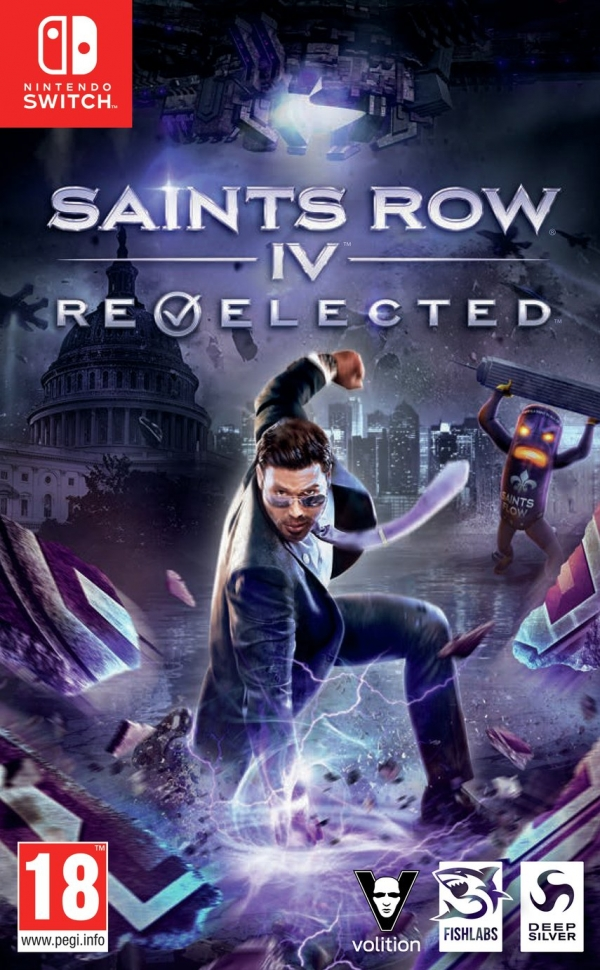 Saints Row IV: Re-Elected Nintendo Switch Game
